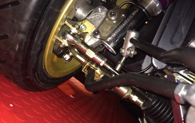 Pr GP4 Radiator Support Panel Gussets Escort MK 1 //2 Rally